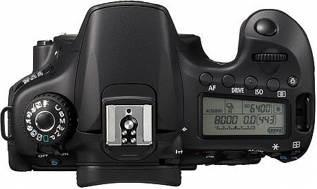 Canon EOS 60D | Top