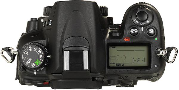 Nikon D7000 | Top