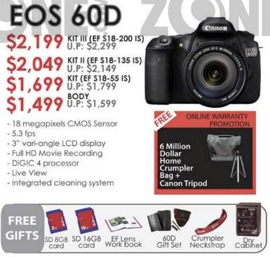 Canon EOS 60D vs Nikon D7000 | Entry Level Digital SLR (DSLR ...