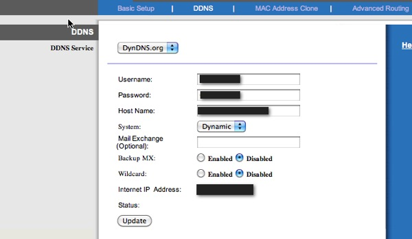How to setup Dynamic DNS (DDNS) and Access your network devices or