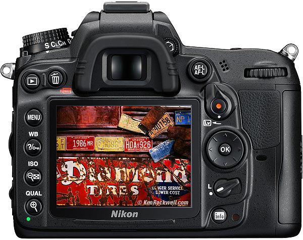 Nikon D7000 | Back
