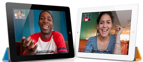 iPad2 - Cameras & Facetime
