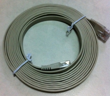 20110424 - CAT6 network cable pic2