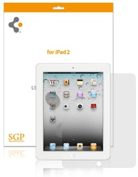 SGP iPad 2 Screen Protector Steinheil Ultra Fine, Ultra Optics, Ultra Crystal - PIC1