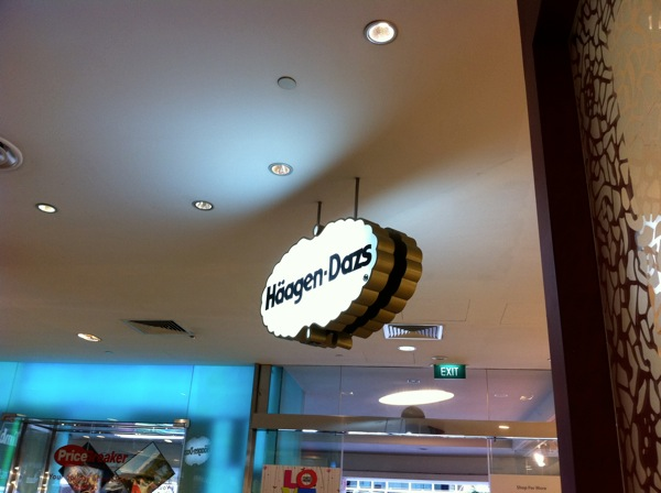 20110428  Haagen Daz Singapore Food  Pic 4