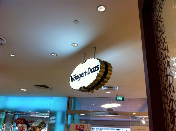 20110428  Haagen Daz Singapore Food  Pic 4