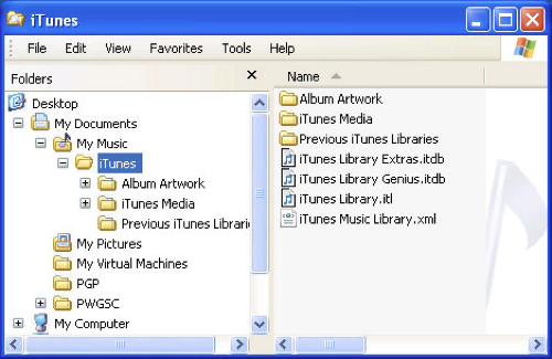 20110517 - Backup Restore iTunes - Pic2