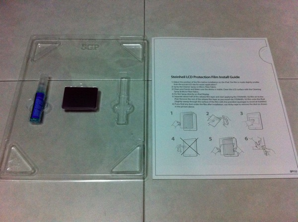 20110526 - Steinheil SGP iPad 2 Screen Protector - pic 4