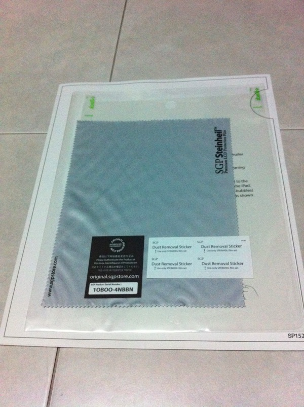 20110526 - Steinheil SGP iPad 2 Screen Protector - pic 5