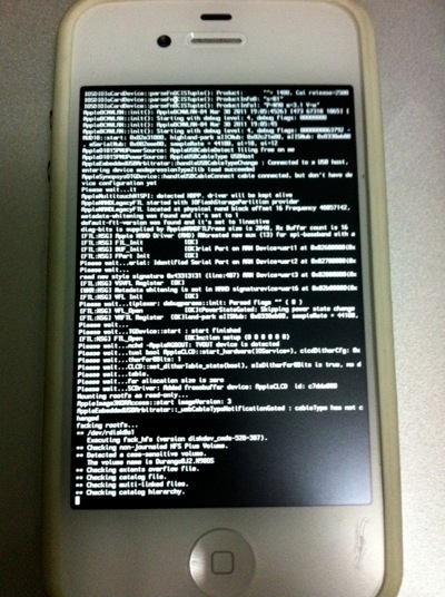 Jailbreak white iphone with Redsn0w  pic 2