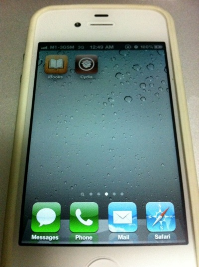 Jailbreak white iphone with Redsn0w  pic 6