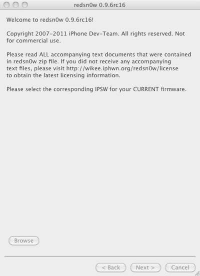 Jailbreak white iphone with Redsn0w  pic