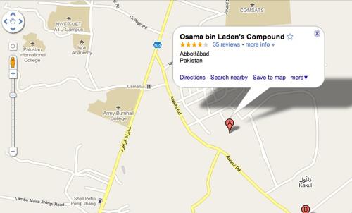 Osama Bin Ladin's hideout compound - pic 1