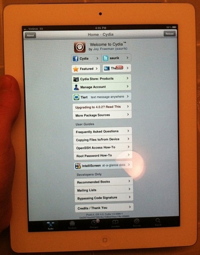 20110627 - iPad 2 Jailbreak