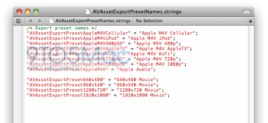 iOS5 HD Encode & Decode