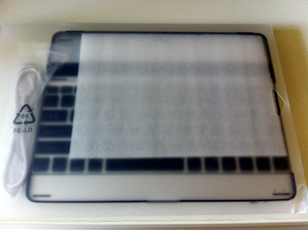 Aluminium keyboard buddy case for ipad2 1