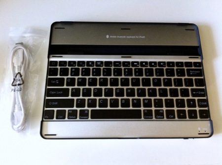Aluminium keyboard buddy case for ipad2 2