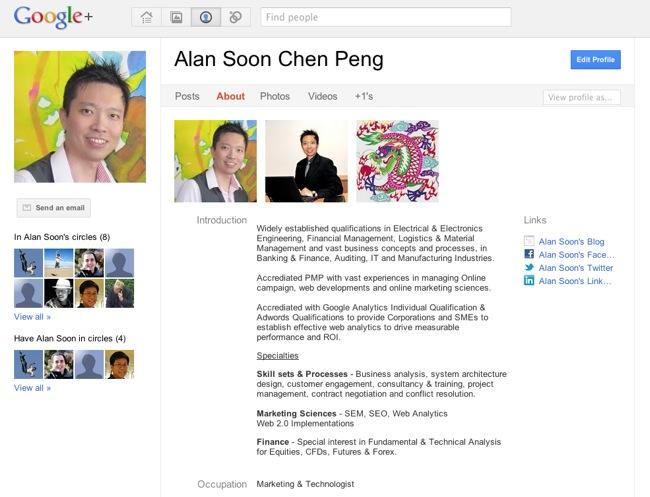 GooglePlus Overview 2