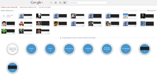 GooglePlus Overview 3