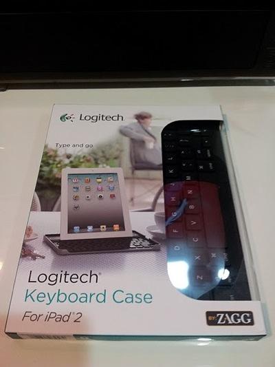 Logitech Keyboard Case for iPad 2 by Zagg 28