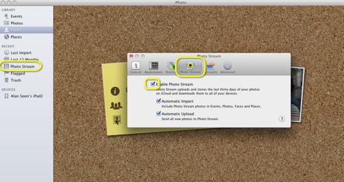iPhoto-iCloud-Setup