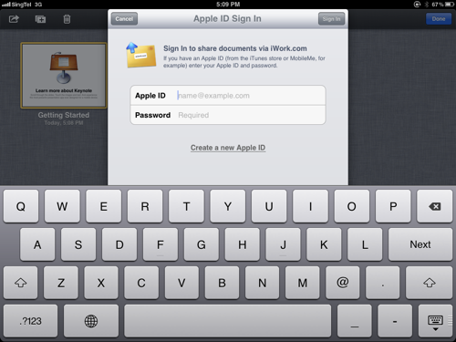 how to create a new icloud account on mac
