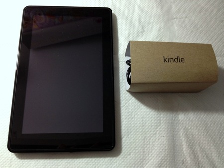 Kindle Fire & Charger