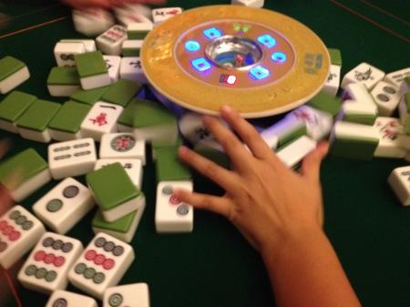 Automatic Mahjong Table 4 & Automatic Mahjong Table - Auto Shuffle and Lay Mahjong Tiles ...