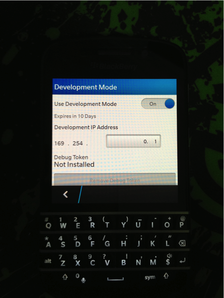 install android apps on blackberry q10 apologize