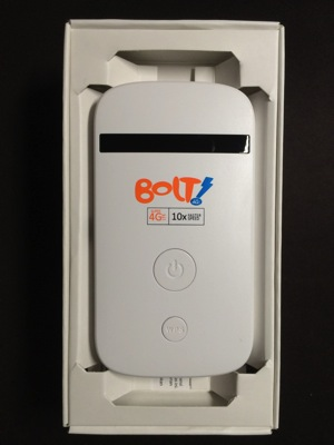 Unlock the new BOLT! 4G LTE mobile wifi mifi | Gadgets