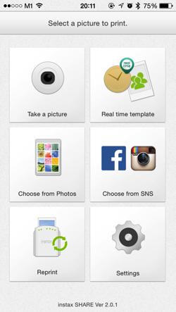 FujiFilm Instax Share Smartphone Printer SP-1 : Print your photos