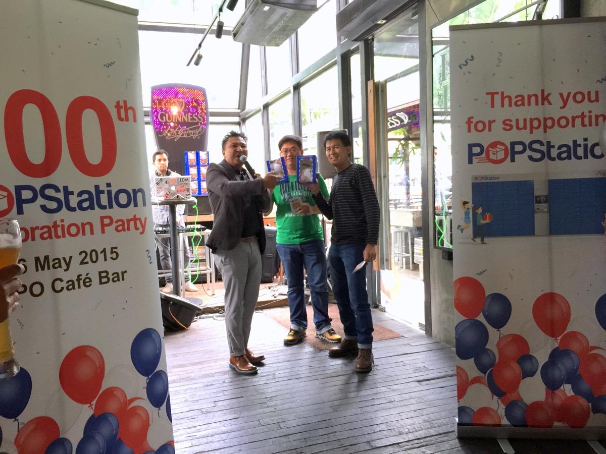 100th POPStation celebration event - Games