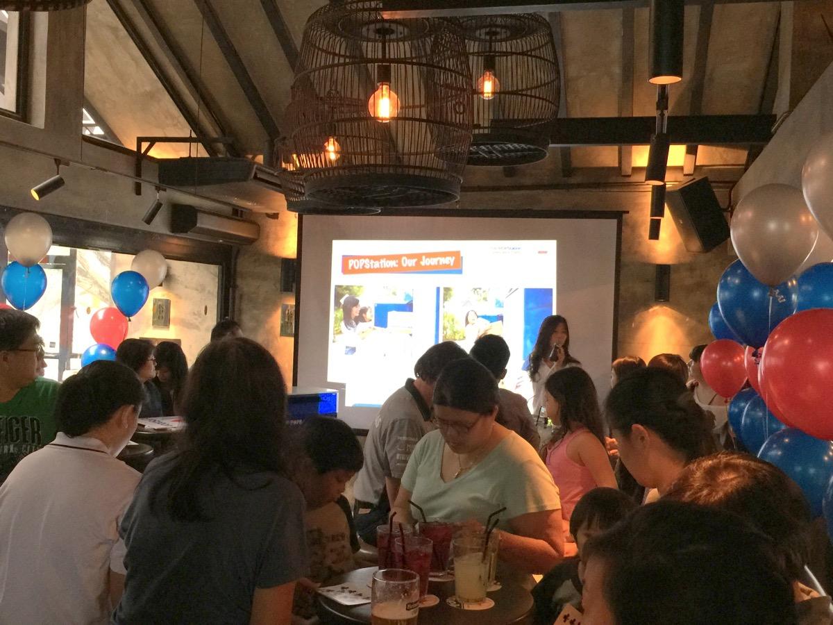 100th POPStation celebration event - presentation