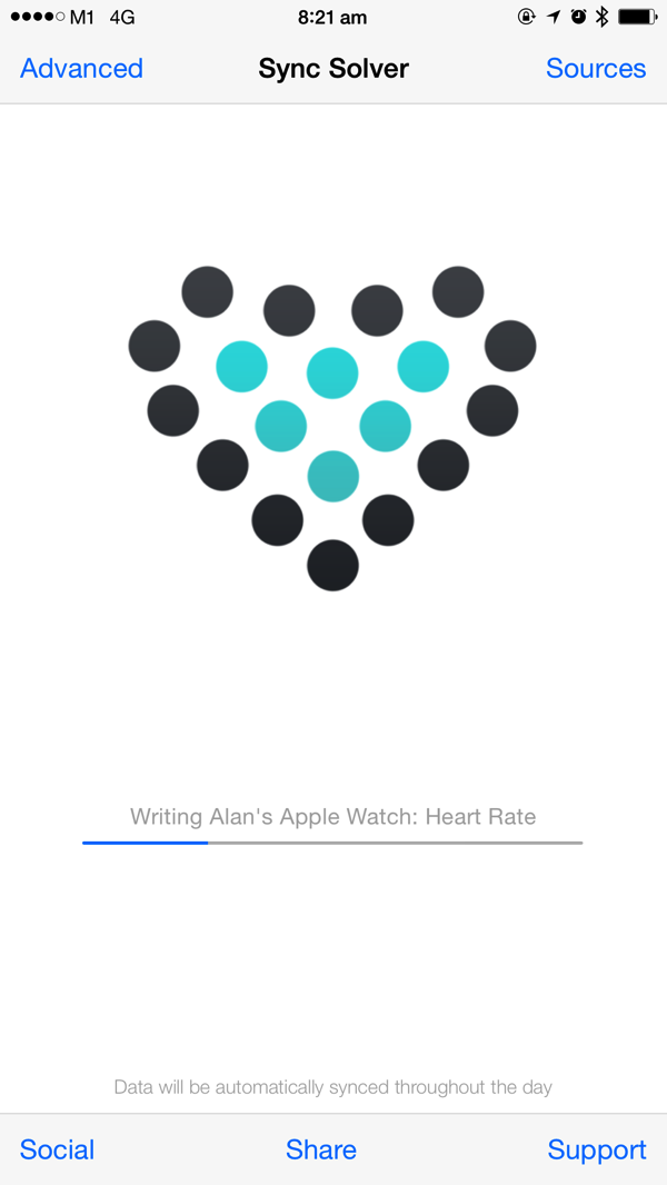 Apple Watch - Health data sync to Fitbit - Sync Solver 3