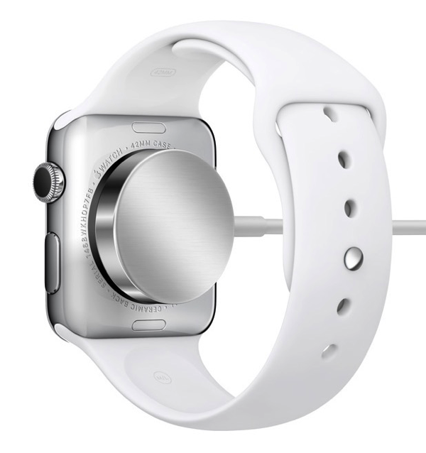 Apple Watch - MagSafe induction charging