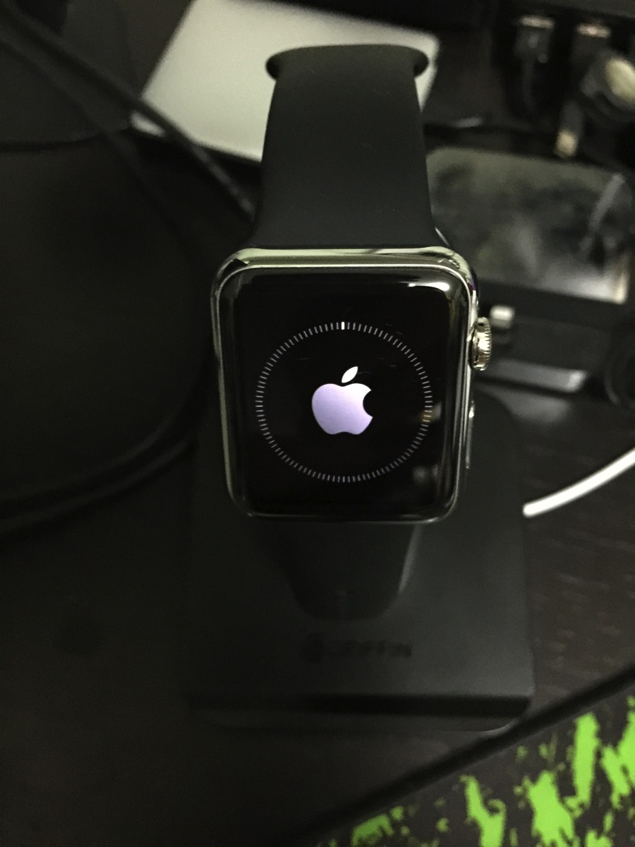 Apple Watch Update - Progress indicator