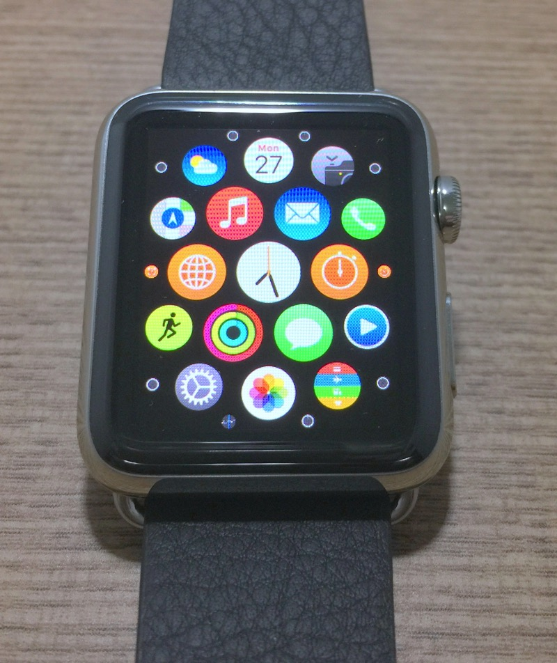 IMG Apple Watch - apps layout view