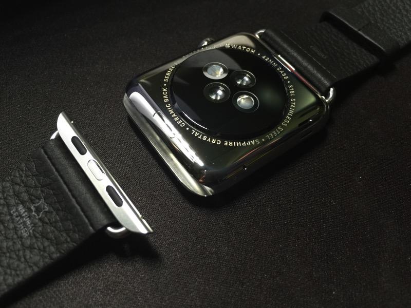 Apple Watch - changing watch strap