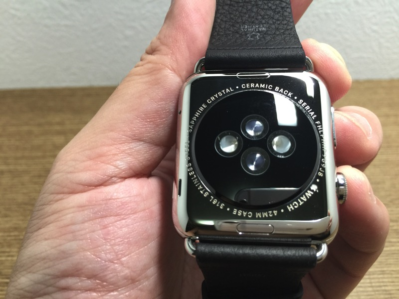 Apple Watch - how it looks like - back