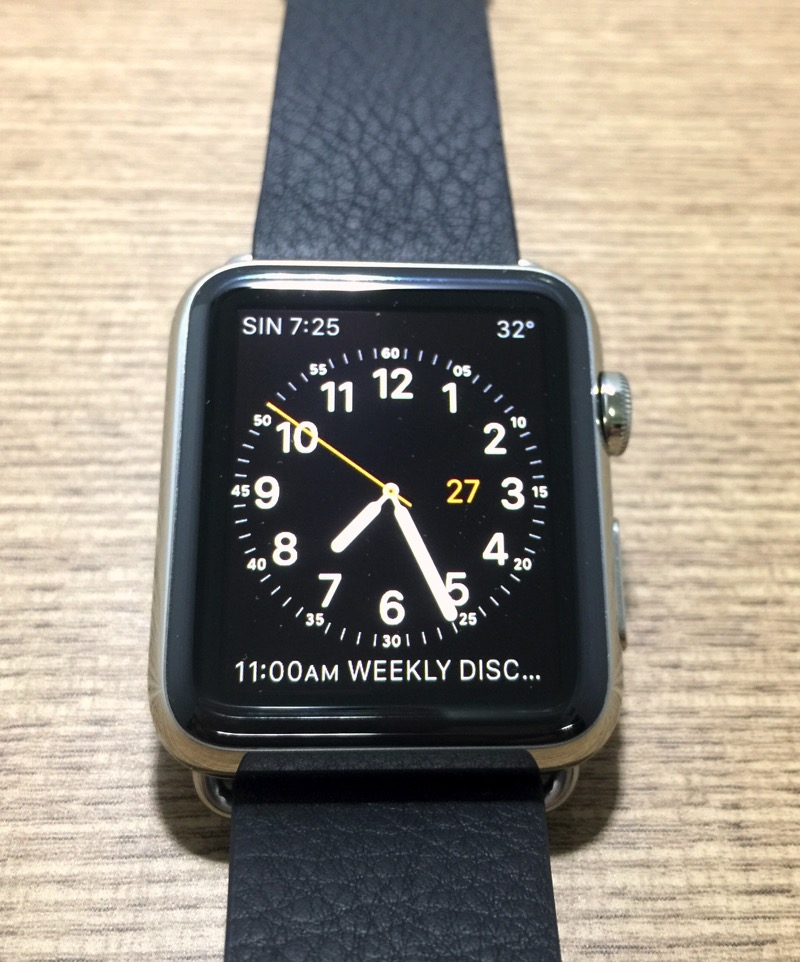 Apple Watch - utility clock face
