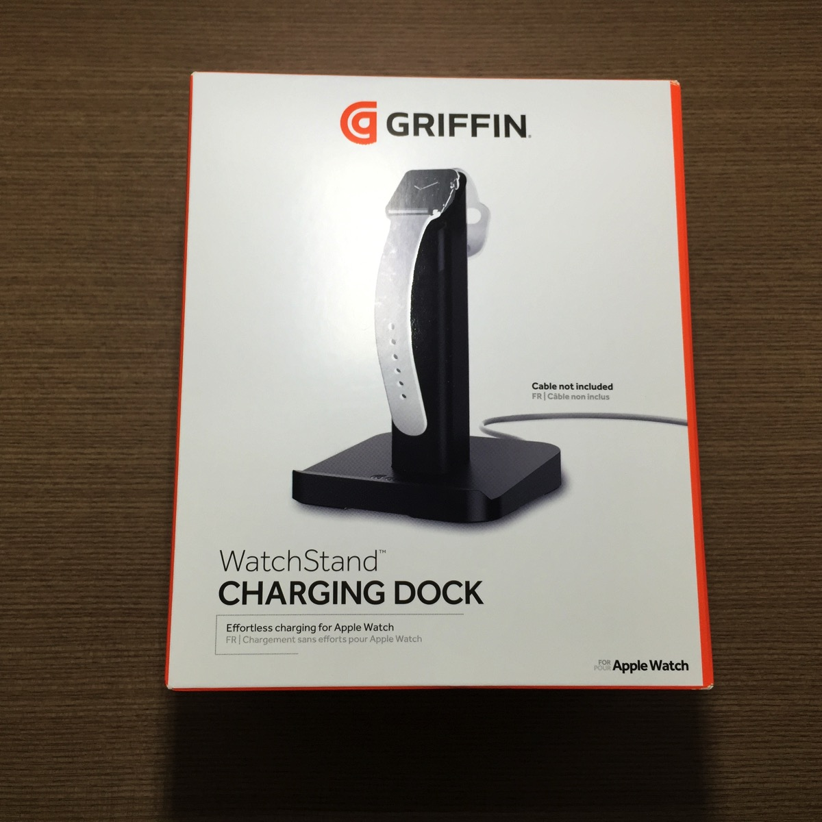 Griffin WatchStand Charging Dock - Packaging