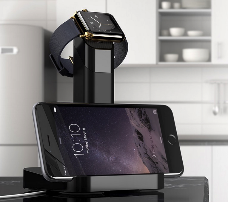 Griffin WatchStand - with iPhone