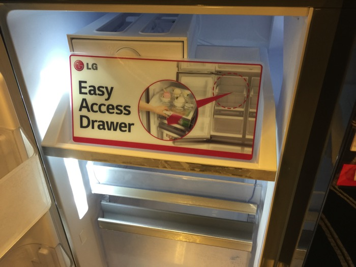 LG Refrigerator - Easy Access Drawer.