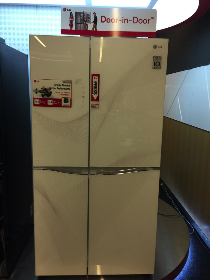 LG Refrigerator - Side by Side - GS M6262KR - Front Full View