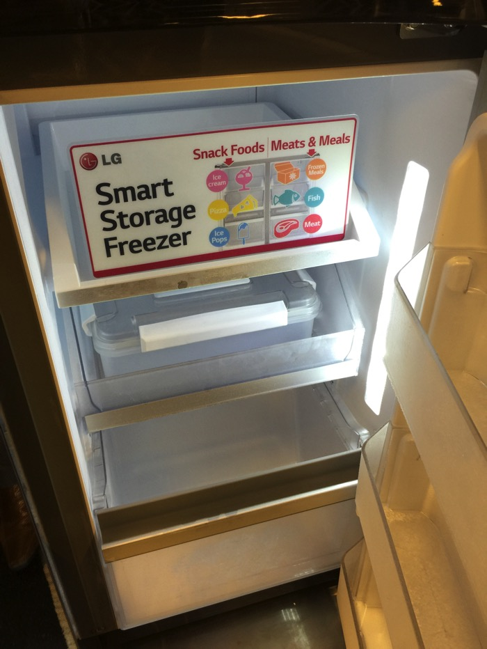 LG Refrigerator - Smart Storage Freezer