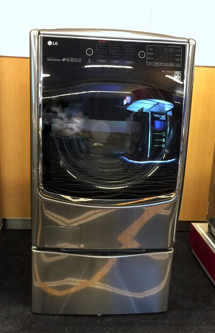 LG Washer Machine - FH21VB1 - Front Full View