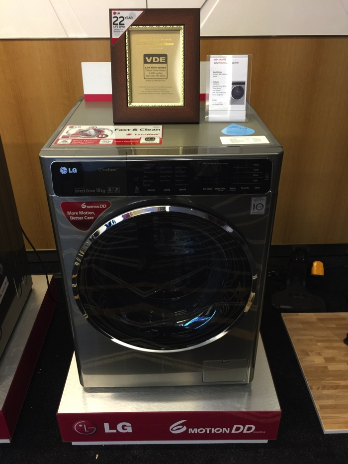 LG Washer Machine - Front Load - WD 1410TS