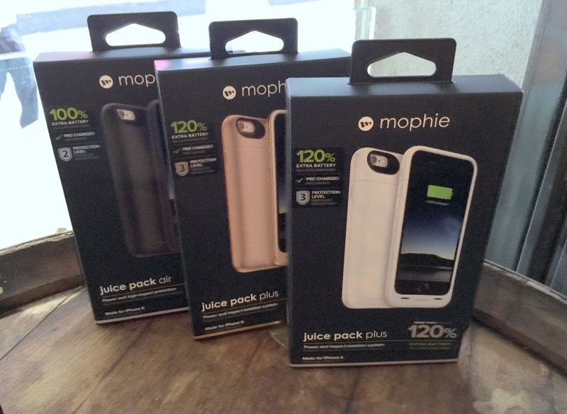 Mophie Juice Pack - 3 color variants