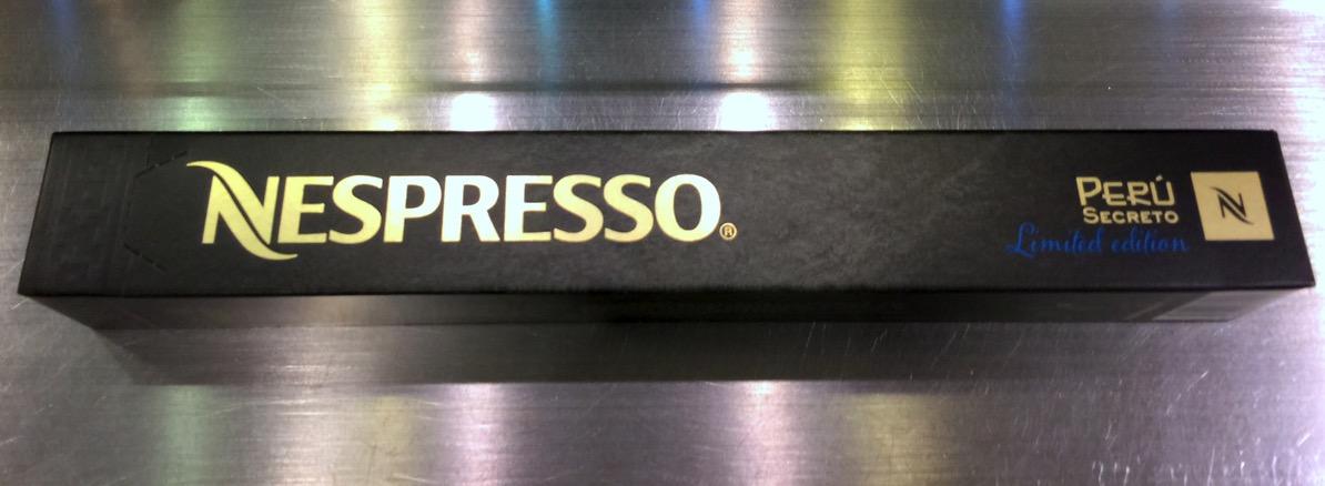 Nespresso - Peru Secreto - Sleeve