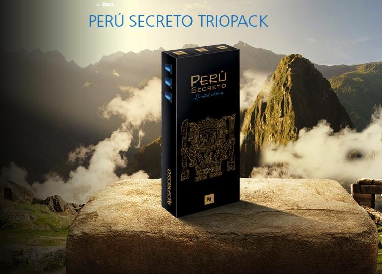 Nespresso - Peru Secreto - Trio Pack